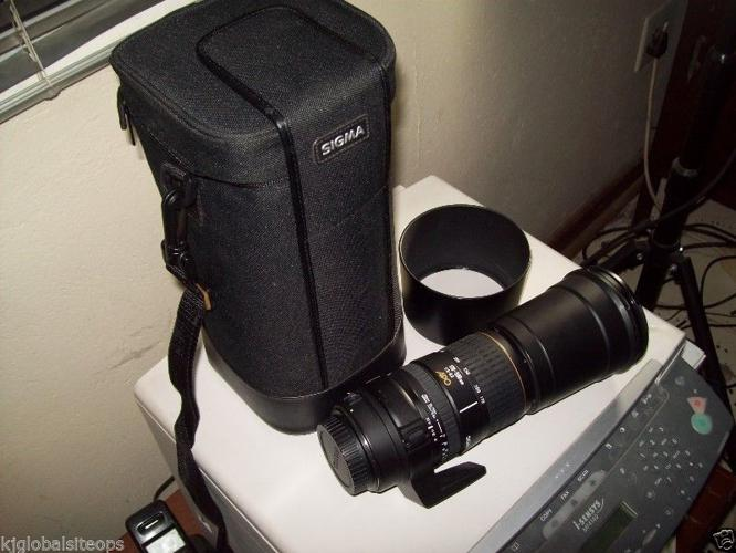Canon Mount SIGMA 170-500mm APO lens