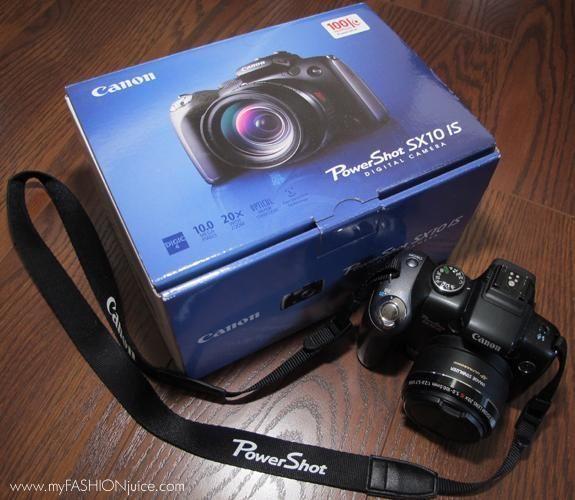 Canon PowerShot SX10 IS Digital Camera incl. waterproof