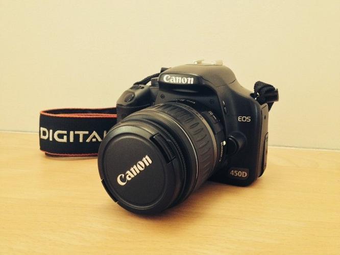 Canon SLR EOS 450D Camera Starter Kit