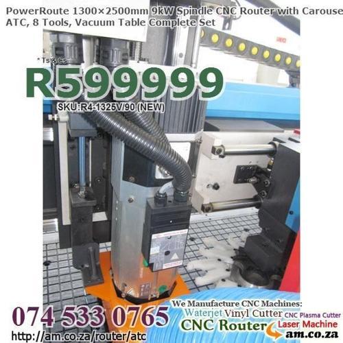Carousel ATC CNC Woodwork Routing Machine w.9kW