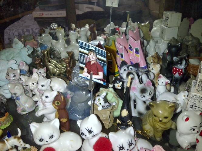 Cat ornaments