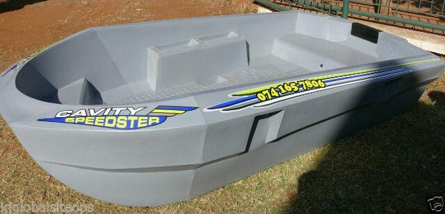 CAVITY SPEEDSTER PLASTIC BASS FISHING BOATS for Sale in