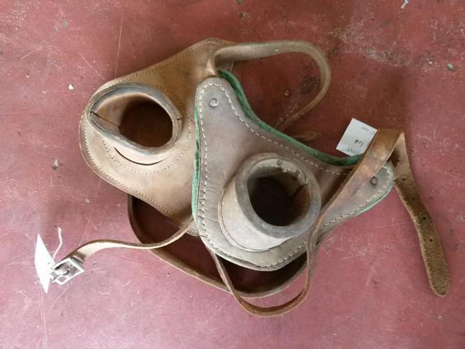 Cazmo 417-Style - Leather fishing rod belt