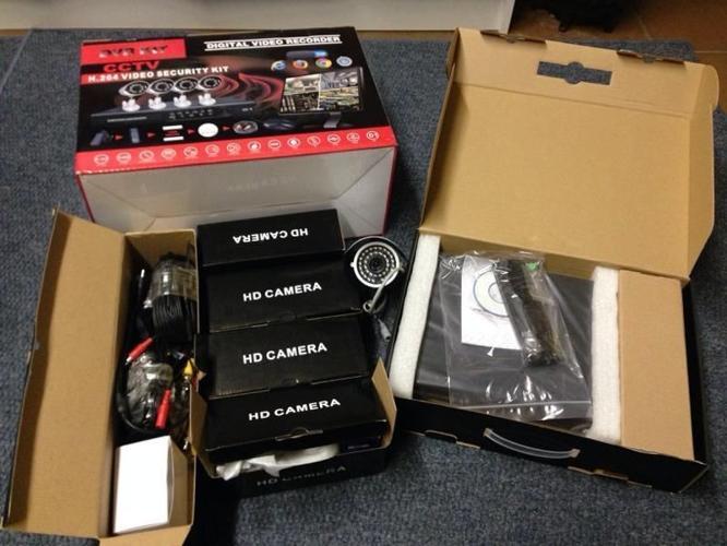 Cctv Cameras. Maklik om te instaleer.