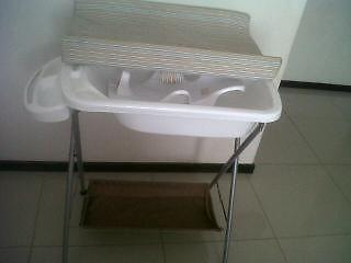 changing table and feeding chair