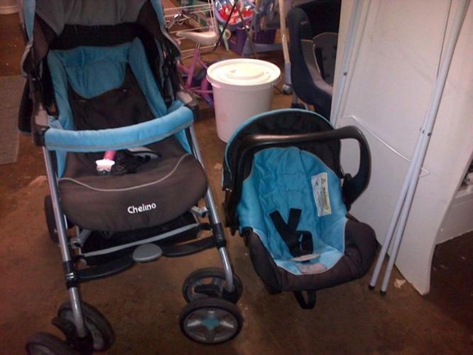 Chelino Pram and Car Seat