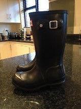 Children's Hunter Boots Size 10