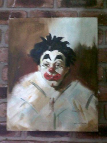 Clown Painting by C. Antonio