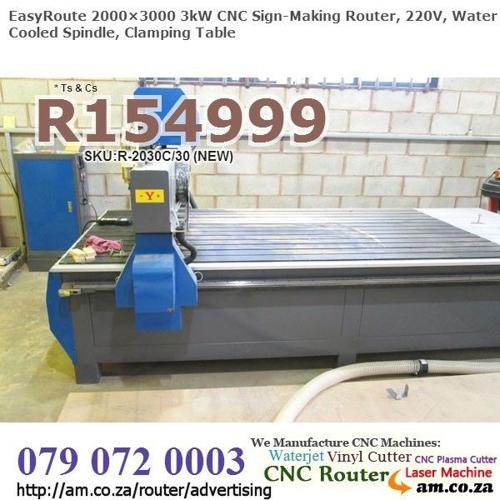 CNC Router for Sale, 3 Axis CNC Signage Router, 220V,