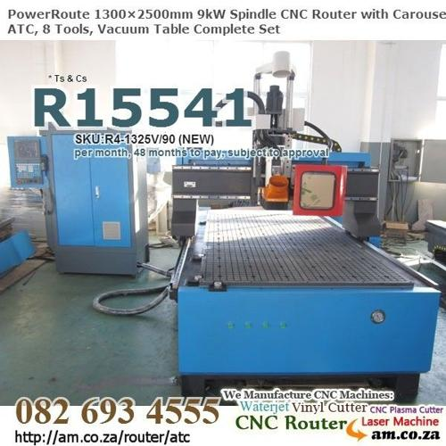 CNC Routing Machine Disk ATC 8tool,NEW,2+4+10Year