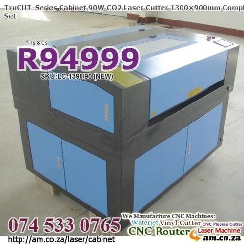 CO2 CNC Cabinet 90W 1300×900 Laser Cut Machine for