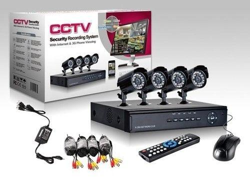 Complete 4 Channel D.I.Y CCTV Kit with 700TV Line HD