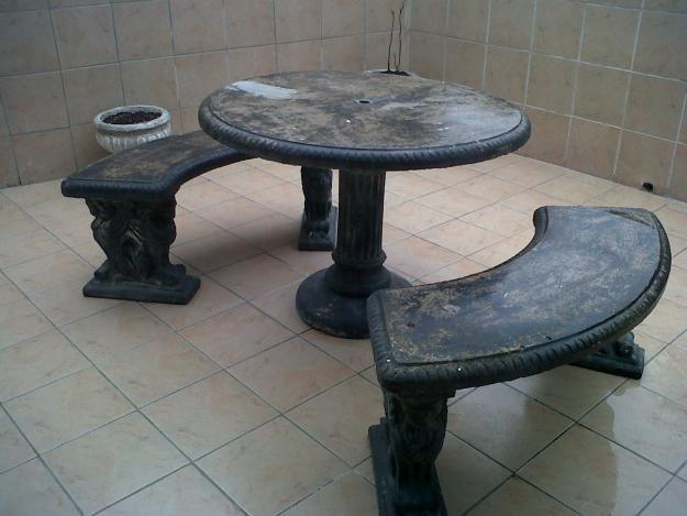 Concrete Table And 2 Benches For Sale In Ncotshane Kwazulu Natal Classified