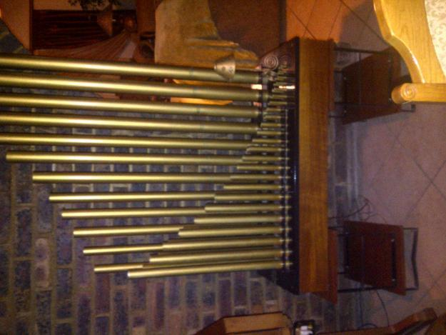 Conn three manual organ with leslie speaker and three sets ...