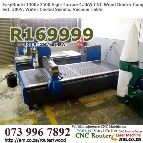 Cupboard Factory 4.5kW 1300×2500mm CNC Wood Routing