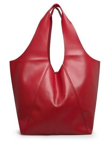 Dashing bright Red brand New Leather Handbag.