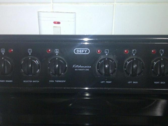 Defy 621 Kitchenaire stove
