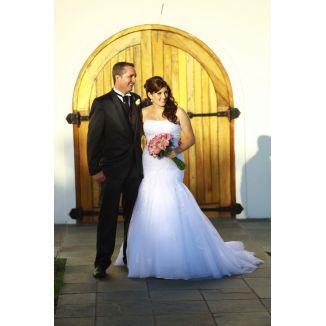 Demetrios designer wedding dress for sale