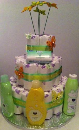 Baby Shower Cakes Johannesburg South ~ Diaper cakes for baby shower gifts centrepieces or gift