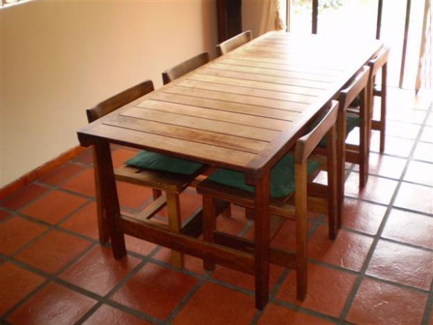 Dining Table & 6 Chairs By DS Vorster % Company