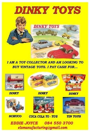 DINKY TOY WANTED!!
