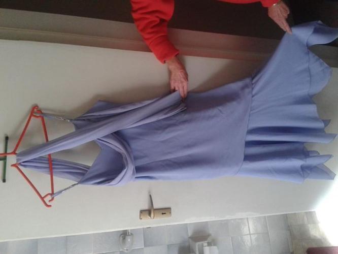 Dress & Jacket & Blue Dress