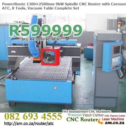 Drum Style ATC CNC wood-working Milling Machine w.9kW