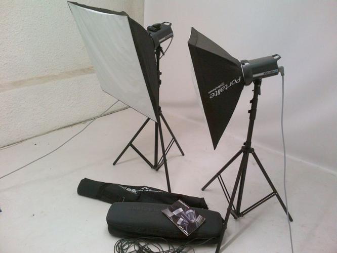 Elinchrom D-Lite2 Studio Lights