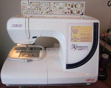 Elna Xperience 8300 Embroidery Machine For Sale In