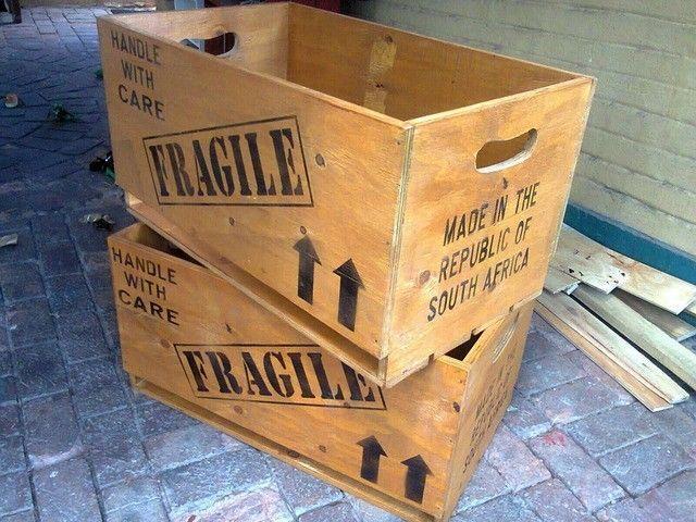 Extra Large Wooden Crates. AL0028