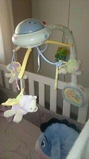 Fisher Price Dream Bear cot mobile for sale
