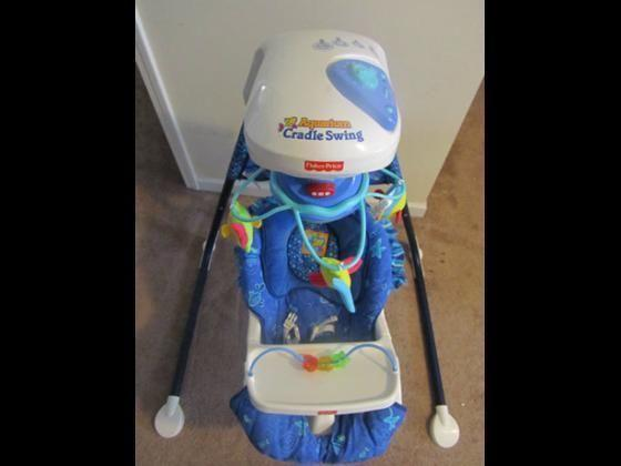 fisher Price ocean swing chair