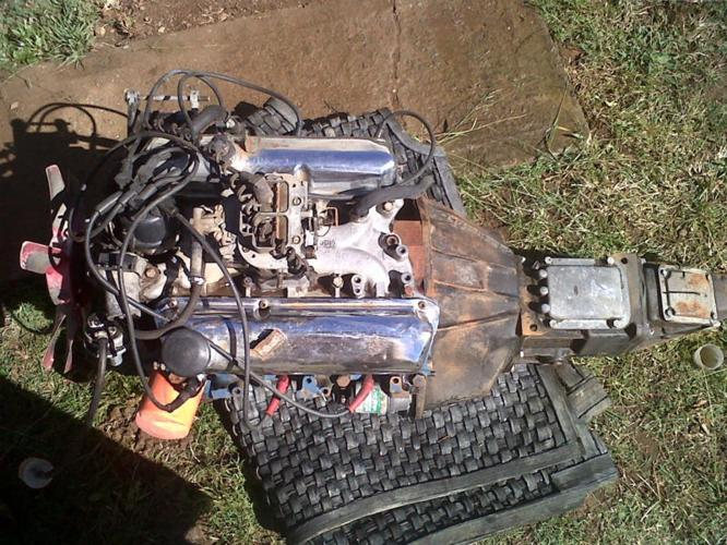 ford 30s v6 motor and gearbox