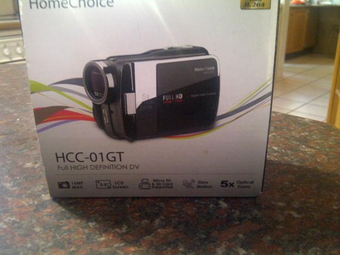 full hd video camera like new