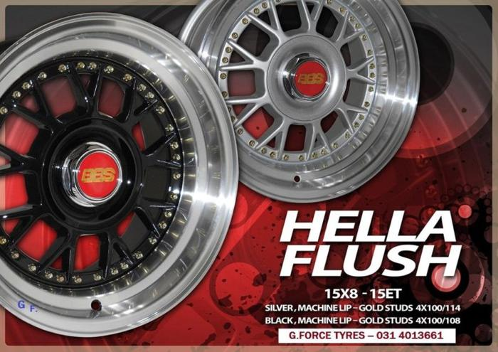 G FORCE TYRES------------NEW DESIGNS --HELLA FLUSH 15