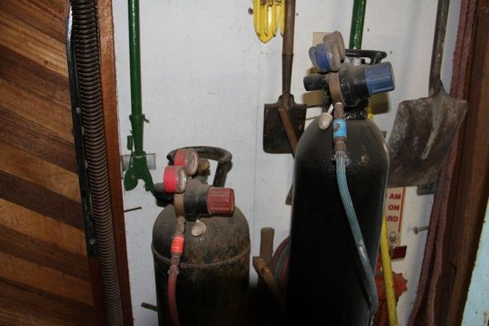 gas gauges and pipes