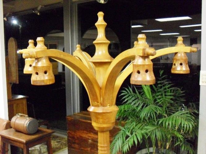 Geelhout Staan Lamp