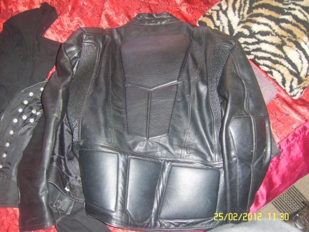genuiine leather jacket 4xl