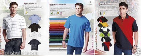 Golf Shirts And T Shirts