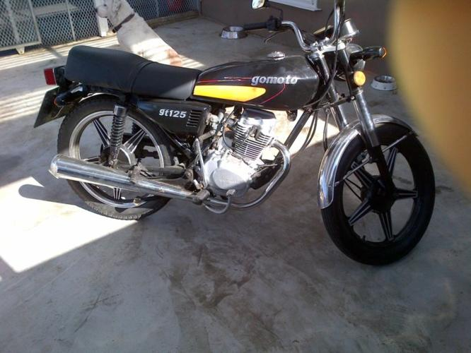 gomoto 125cc gt good runner