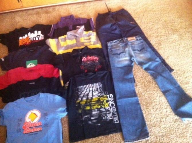 Good Condition BRAND NAME Men's Clothes- 52 Items