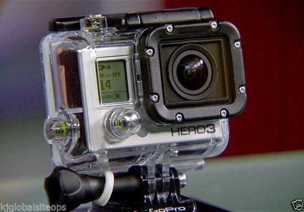 GoPro 3 Hero with accessories