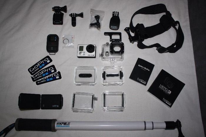 GoPro Hero 3 Black Edition + Accessories