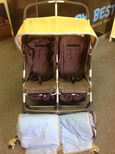 Graco compact twin stroller