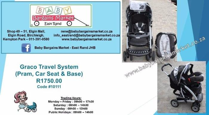 Graco Travel System Less 15% Now Only R1488 until 20