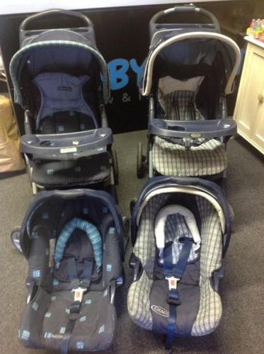 Graco Ultima travel systems including strollers with