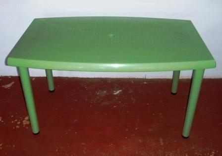 GREEN PATIO TABLES