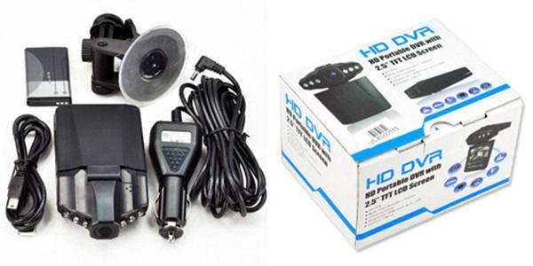 HD Car Dash Camera 2.5 LCD Night Vision Camera Video