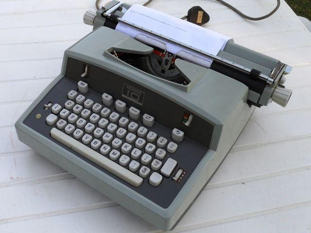 Hermes Swiss Electric Typewriter in perfect working