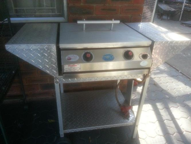 high speed gas braai made by chef